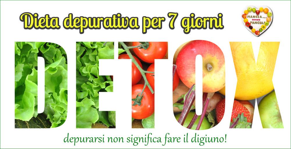 Dieta depurativa per 7 giorni - ricette invernali per tutti i gustia