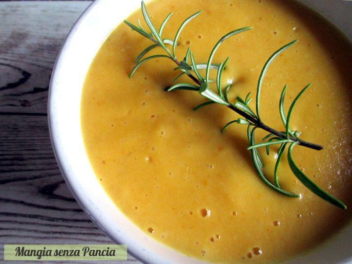 Crema di patate e carote leggera. Mangia senza Pancia