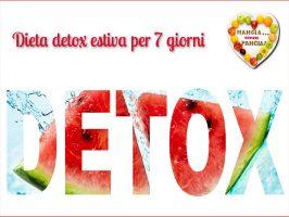Dieta detox per 7 giorni – ricette estive