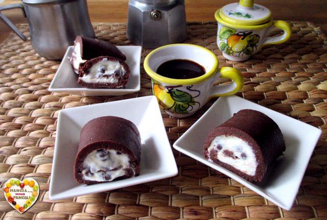 Rotolo di pavesini al cacao, Mangia senza Pancia