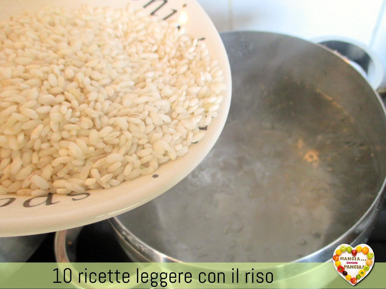 10 ricette leggere con il riso per l'autunno, Mangia senza Pancia