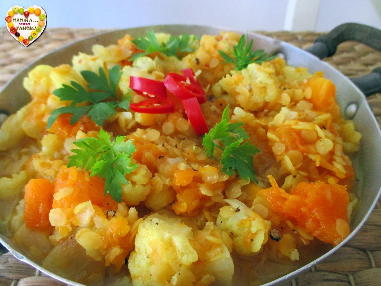 Dahl di lenticchie e verdure
