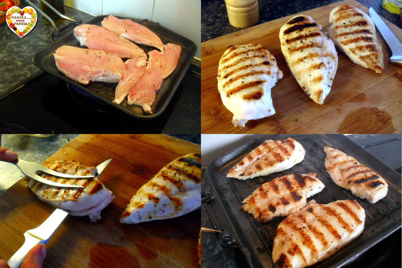 Pollo e riso con salsa speziata, Mangia senza Pancia