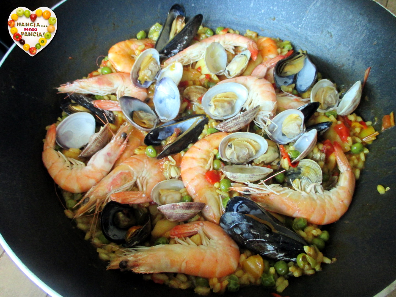 Paella di pesce, Mangia senza Pancia