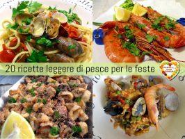 20 ricette leggere di pesce per le feste