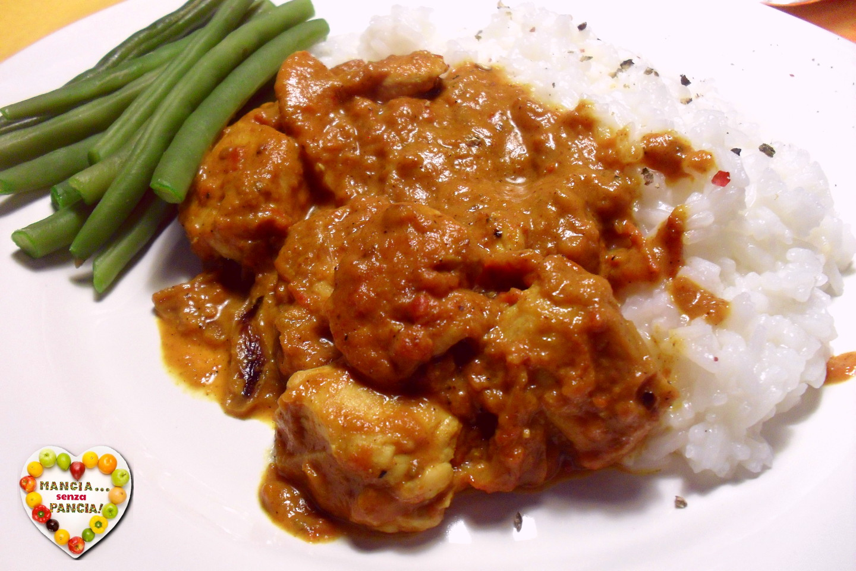 Pollo al curry light, Mangia senza Pancia