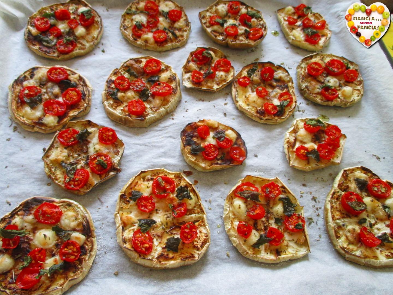 Pizzette di melanzane light, Mangia senza Pancia