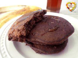 Pancakes cioccolato e banana