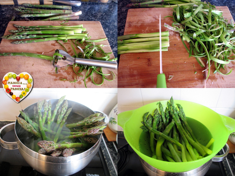 Quiche di asparagi leggera, Mangia senza Pancia
