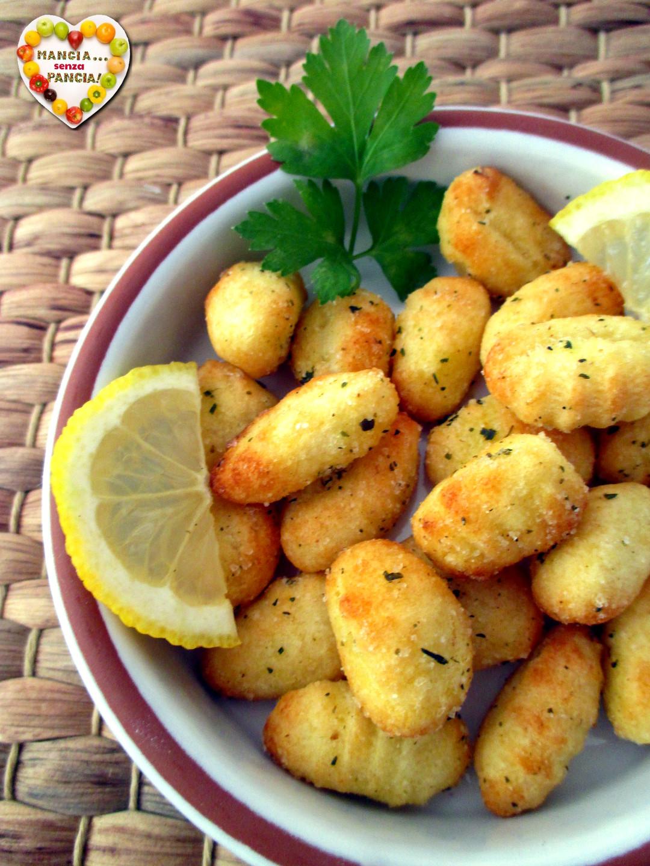 Gnocchi di patate fritti nella friggitrice ad aria, Mangia senza Pancia