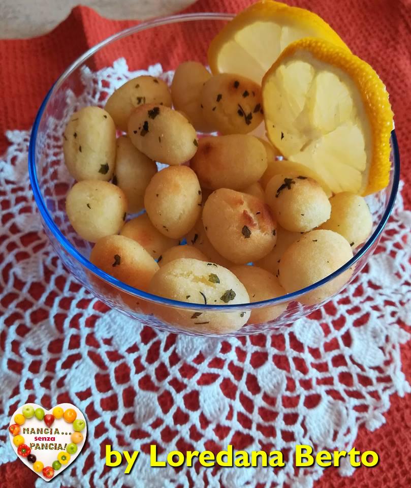 Gnocchi di patate fritti al forno, Loredana Berto, Mangia senza Pancia