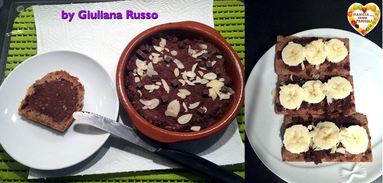 Hummus al cioccolato, Giuliana Russo, Mangia senza Pancia