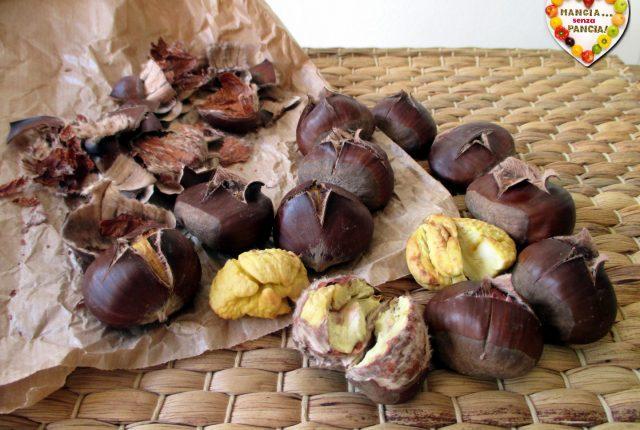 Castagne arrostite nella friggitrice ad aria, Mangia senza Pancia