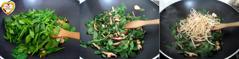 Omelette con verdure alla cinese, Mangia senza Pancia