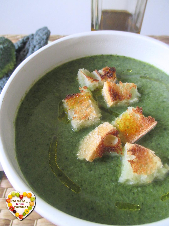 Passato di broccoli e cavolo nero cremoso, Mangia senza Pancia