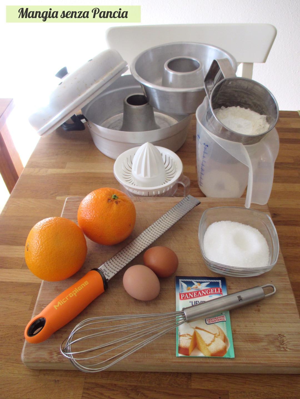 Ciambella alle arance leggera in fornetto Versilia, Mangia senza Pancia