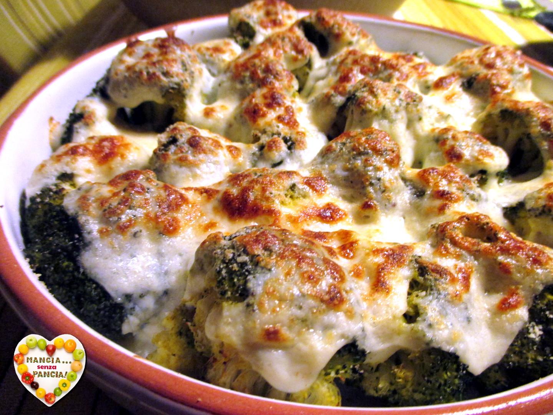 Broccoli gratinati con besciamella