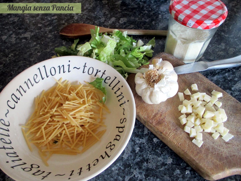 Pasta con scarola alla siciliana, Mangia senza Pancia