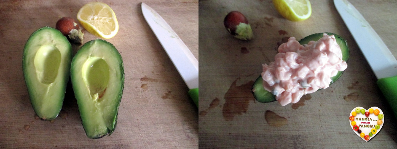 Avocado e gamberetti in salsa rosa, Mangia senza Pancia