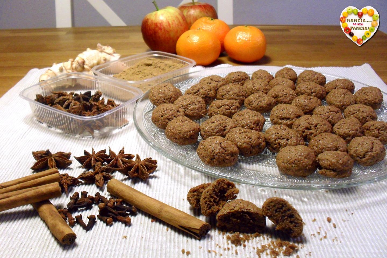 Biscottini speziati Kruidnoten olandesi, Mangia senza Pancia