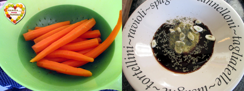 Carote balsamico e origano, Mangia senza Pancia