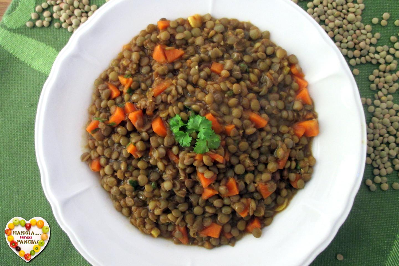 Ricetta Lenticchie Senza Pomodoro.Lenticchie In Umido Speziate