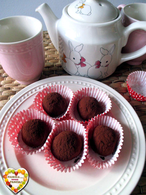 Palline al cioccolato light, Mangia senza Pancia