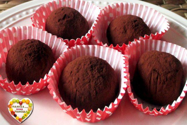 Palline al cioccolato light, menù light per San Valentino, Mangia senza Pancia