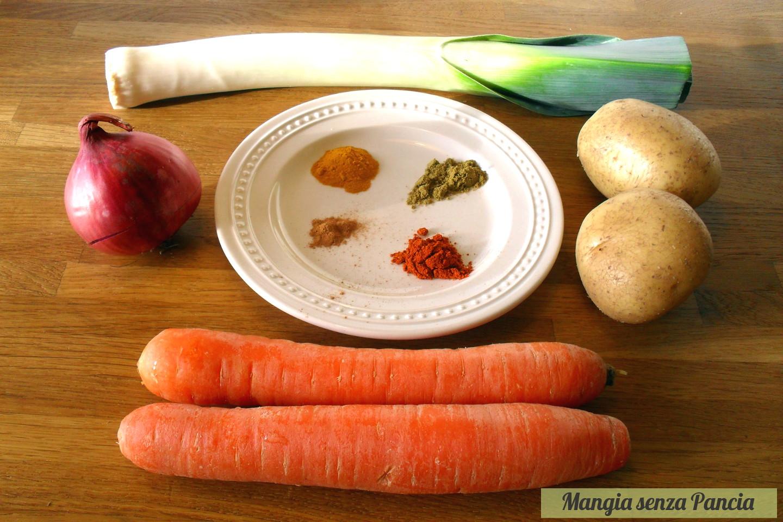 Passato di verdure depurativo post abbuffata, Mangia senza Pancia
