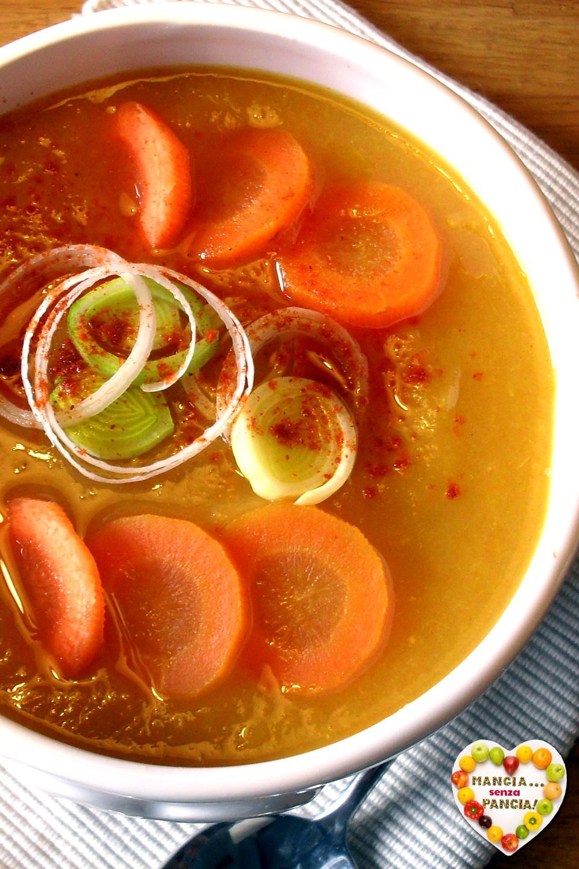 come preparare zuppa di verdure indiana per perdere peso
