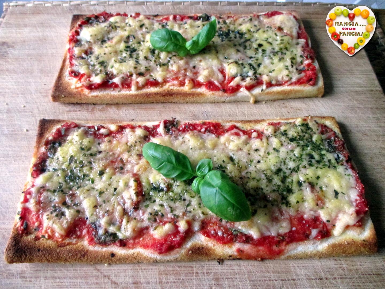 Pizza di pancarré, Mangia senza Pancia