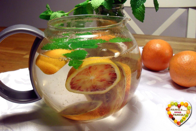 Tisana digestiva menta e arancia, Mangia senza Pancia