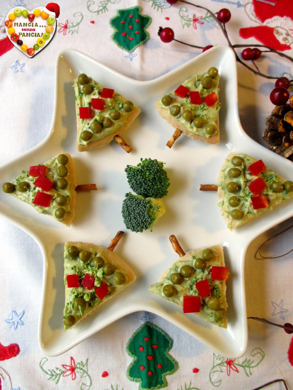 Alberelli di pane pita natalizi, Mangia senza Pancia