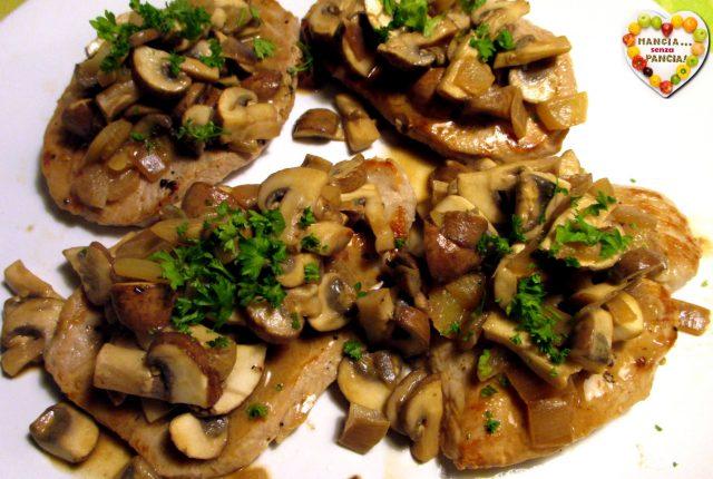 Carne di maiale ai funghi, Mangia senza Pancia