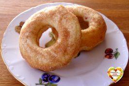 Ciambelline al forno stile donuts