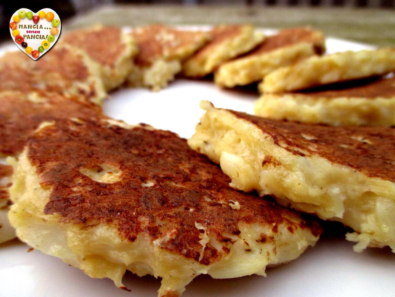 Frittelle di cavolfiore non fritte, Mangia senza Pancia