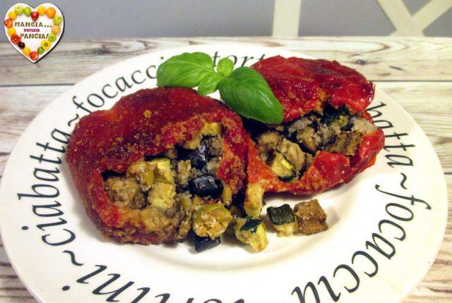 Peperoni mbuttunati alla napoletana, Mangia senza Pancia