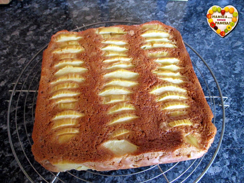 Torta di mele con albumi (torta fit), Mangia senza Pancia