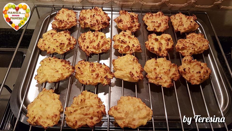 Frittelle di cavolfiore non fritte, versione al forno di Teresina Zanetti, Mangia senza Pancia