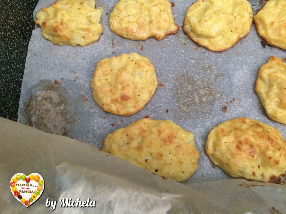Frittelle di cavolfiore non fritte, versione al forno di Michela, Mangia senza Pancia
