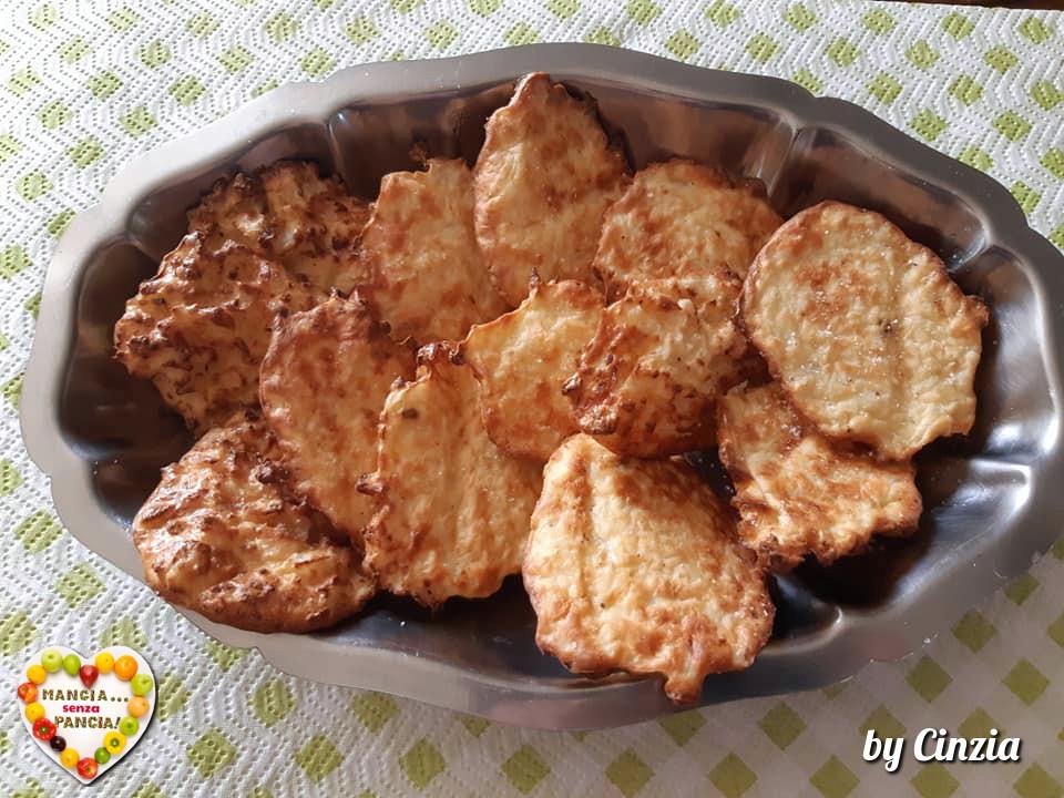 Frittelle di cavolfiore non fritte, versione in friggitrice ad aria Cinzia Meloni Patrizi, Mangia senza Pancia