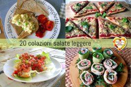 20 colazioni salate leggere