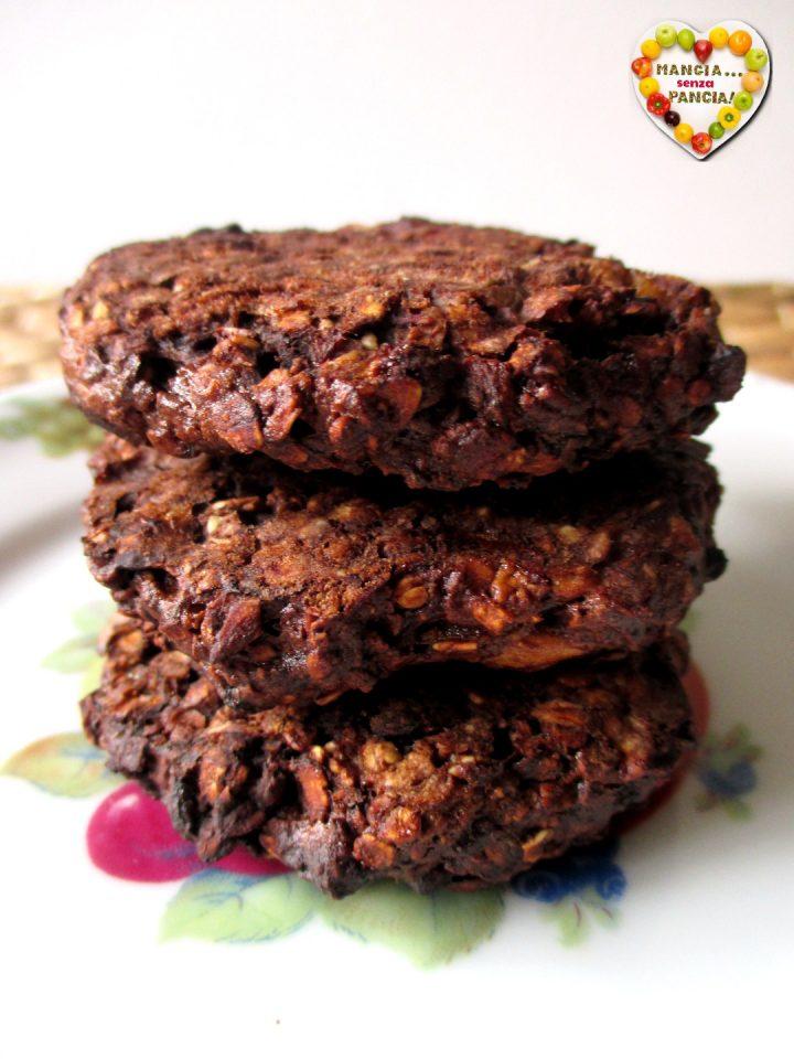 Biscotti avena, banana e cacao nella friggitrice ad aria, Mangia senza Pancia