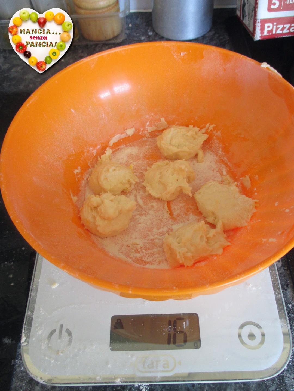 Castagnole con ricotta nella friggitrice ad aria, Mangia senza Pancia