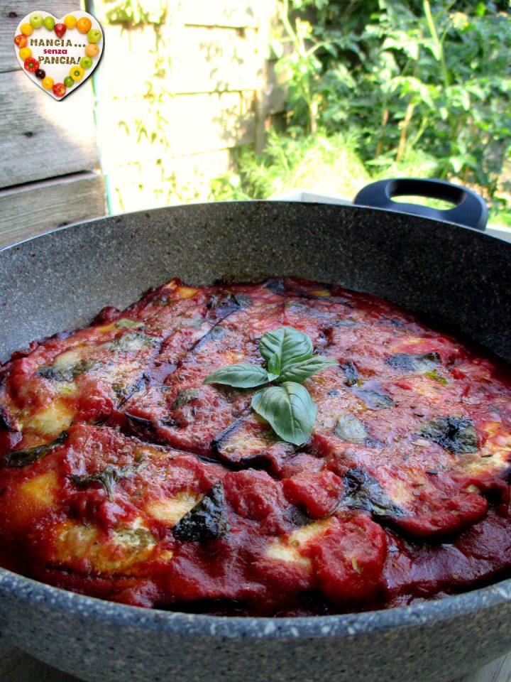 Parmigiana light in padella, Mangia senza Pancia