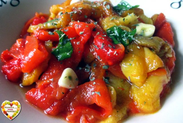 Insalata di peperoni arrostiti, Mangia senza Pancia