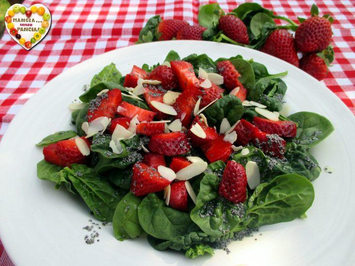 Insalata fragole e spinaci, Mangia senza Pancia
