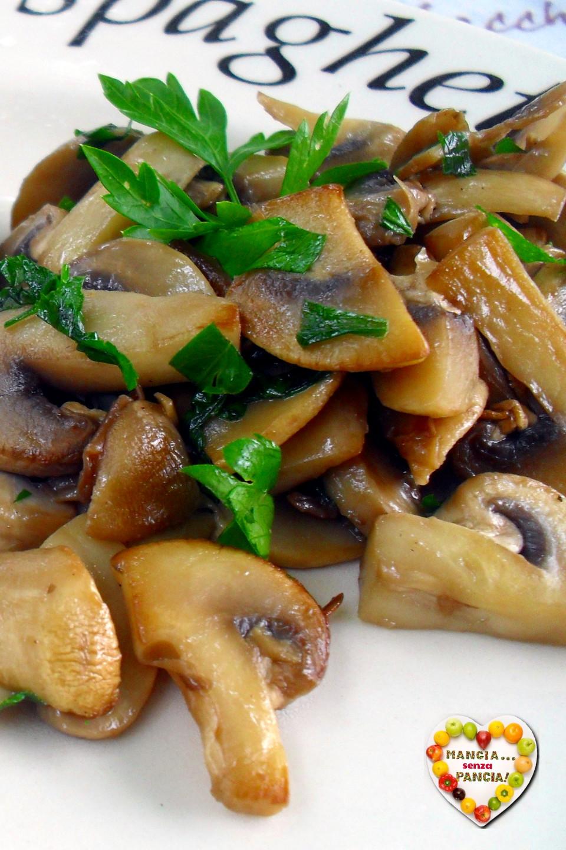 ricette con funghi per la dieta