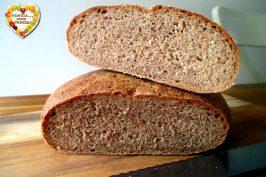 Pane integrale nella friggitrice ad aria