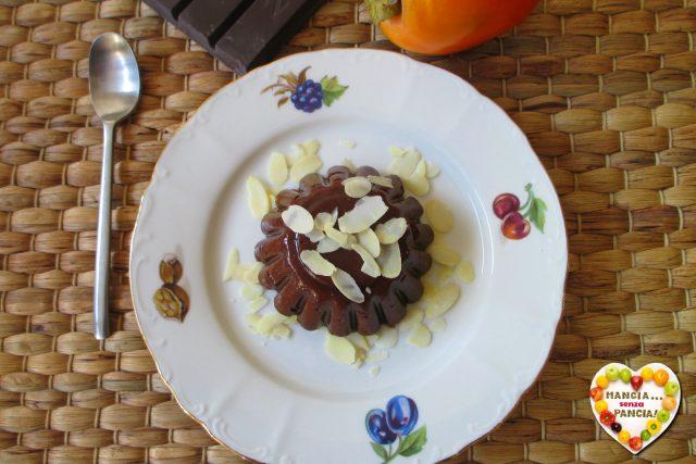 Budino cachi e cacao, Mangia senza Pancia